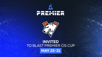 Virtus.pro will play in BLAST Premier closed qualifiers