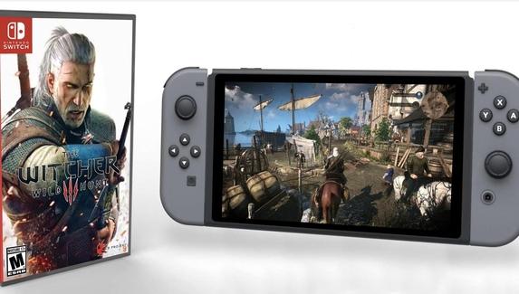 The Witcher 3 может выйти на Nintendo Switch