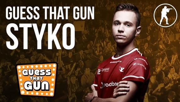 STYKO угадывает название оружия по звуку
