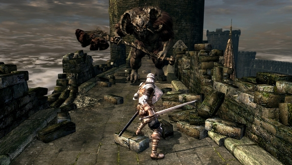 Стример прошел Dark Souls, не получая урона даже от падений
