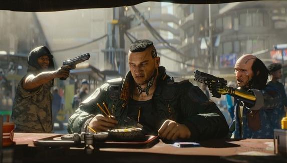 Онлайн Cyberpunk 2077 вырос на треть после выхода патча — это все еще меньше, чем у The Witcher 3: Wild Hunt