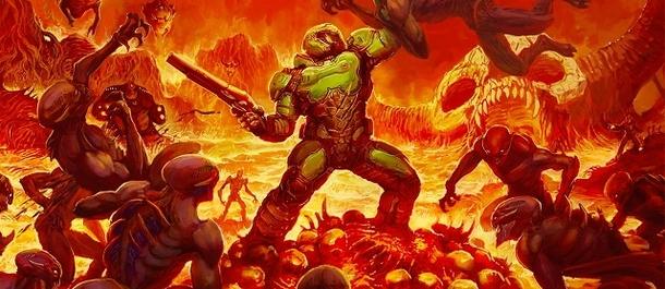 Кто озвучил главного героя в первой части Doom?