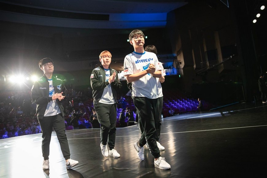 Afreeca Freecs top Group A, qualify to 2018 Worlds quarterfinals