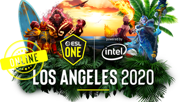 ESL One Los Angeles  2020 will be played online