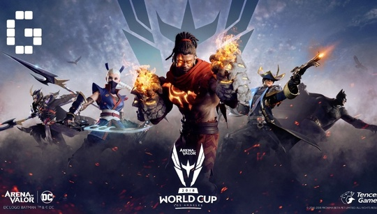 Arena of Valor 2018 mobile esports event will hit LA with a record $550,000 prize pool
