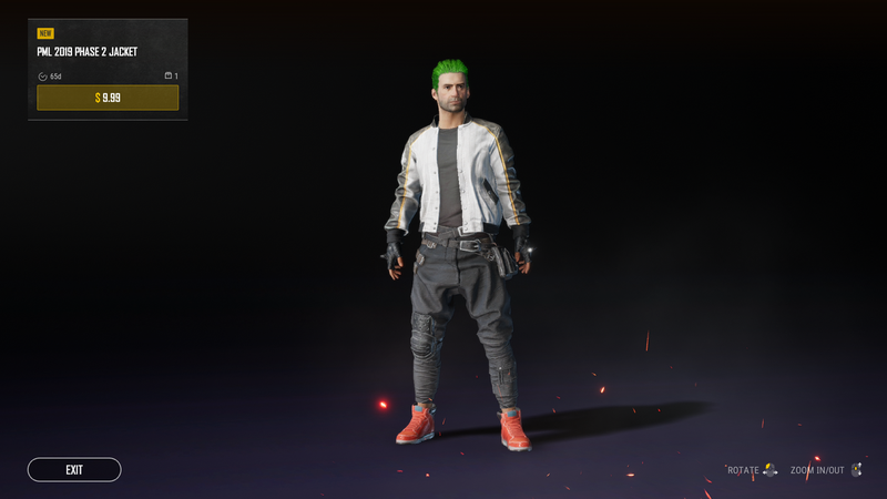 Куртка PUBG Master League