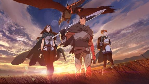 Опубликован официальный дублированный трейлер аниме по Dota2