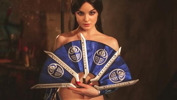 «Китана уже здесь и собирается сделать тебе фаталити» — косплей на персонажа Mortal Kombat