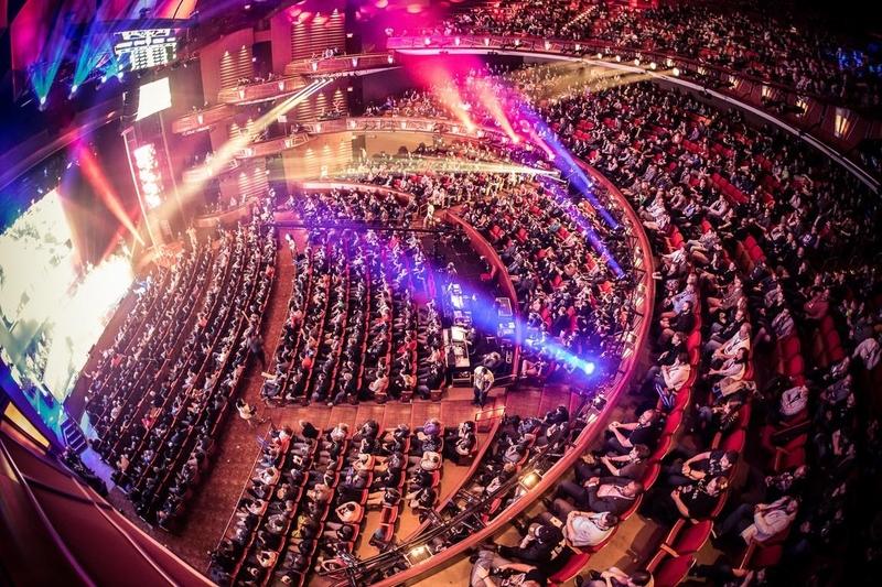 Фото одного из чемпионатов мира, который проходил в Кобб Энерджи Перформинг Артс Сентр