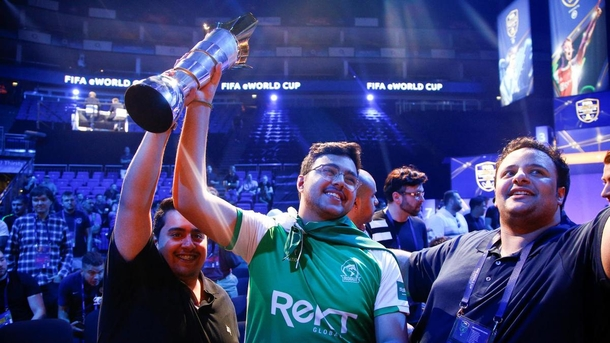 FIFA is involved in hosting the EA Sports eSports World Cup. Photo: Reuters