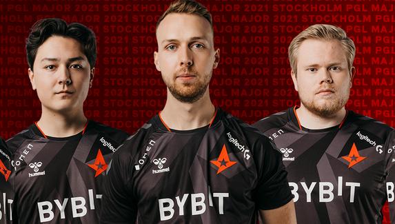 Gla1ve сыграет за Astralis на PGL Major Stockholm 2021