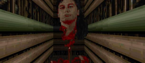 Где можно найти пасхалку с головой Джона Ромеро в Doom 2?