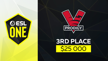 VP.Prodigy  takes 3rd place in ESL One Birmingham 2020 Online