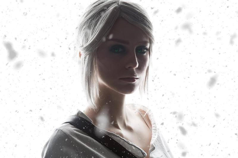 Косплей на Цири из The Witcher 3: Wild Hunt. Косплеер: Дарья Кравец. Фотограф: Сергей Шетухин. Источник: https://vk.com/fishy3