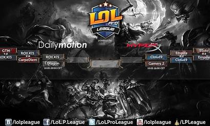 Полуфинальные матчи на LoL Pro League