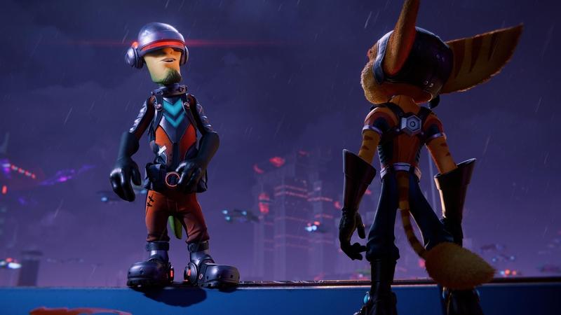 Фантом и Рэтчет в Ratchet and Clank: Rift Apart