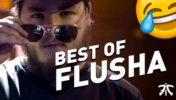«Спасибо, flusha». Лучшие моменты шведа за Fnatic