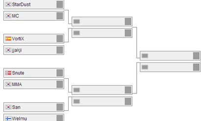 Жеребьевка стадии плей-офф WCS Europe
