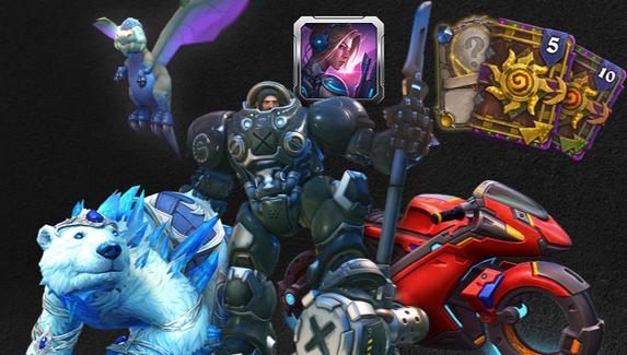 Blizzard выпустила праздничный набор предметов к 30-летию студии