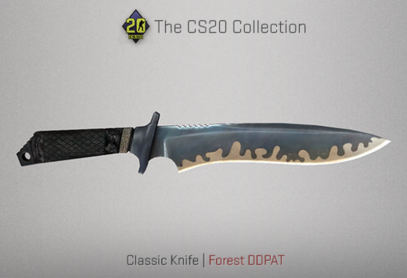 Скин Classic Knife | Источник: blog.counter-strike.net