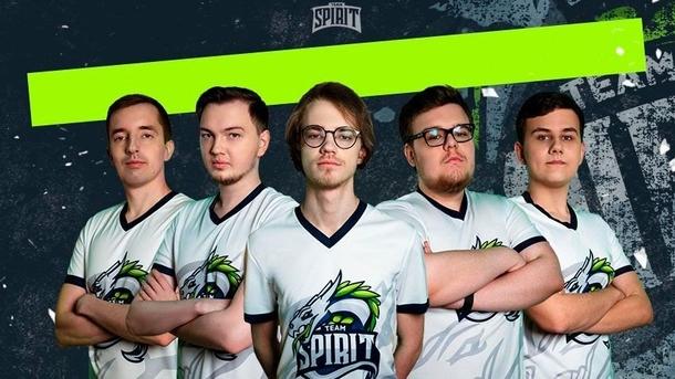 Ghostik в составе Team Spirit