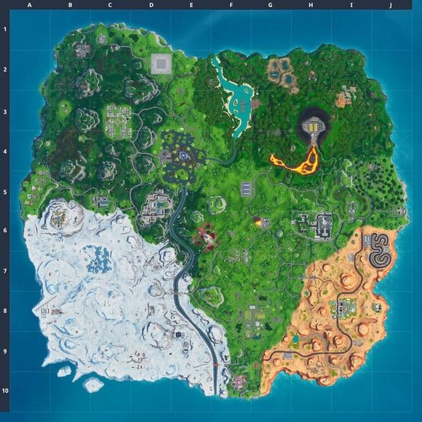 Остров Fortnite. Источник: Fortnite