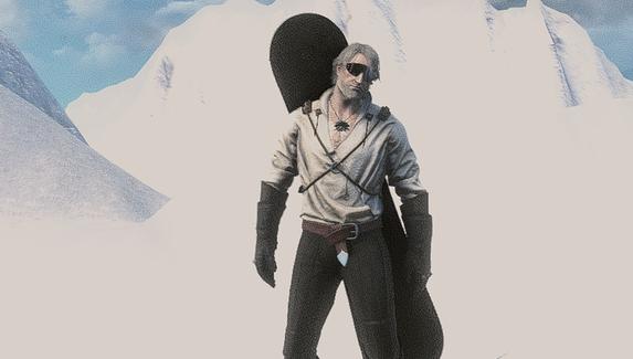 Моддеры превратили The Witcher 3 в симулятор сноубординга