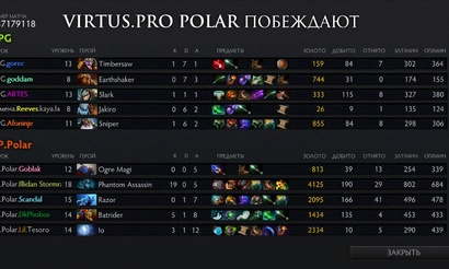 The Summit 2: Virtus.pro Polar побеждают играючи