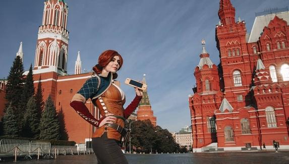 «Дилемма Трисс в Москве» — фото из инстаграма CD Projekt RED