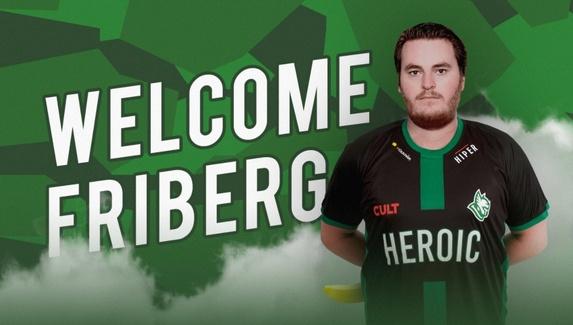 Friberg подписал долгосрочный контракт с Heroic