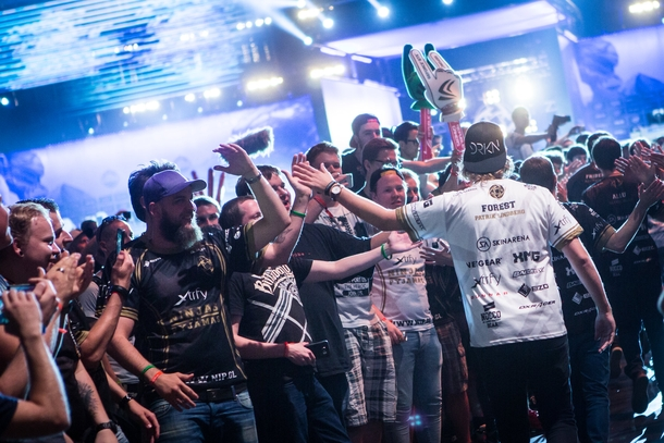 Counter-Strike всегда развивался самостоятельно. Фото: Helena Kristiansson / ESL