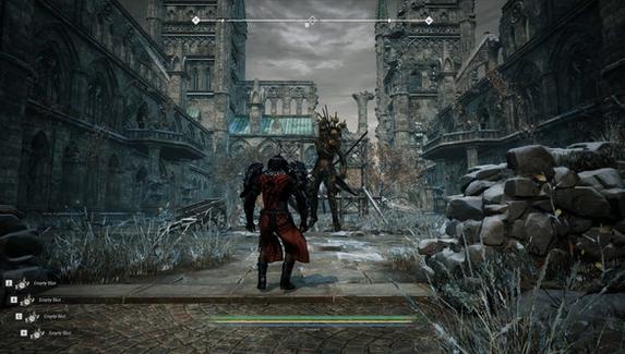 Анонсирована новая RPG в стиле Dark Souls