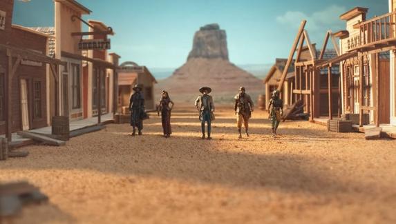 Трейлер Desperados III воссоздали с помощью игрушечных миниатюр