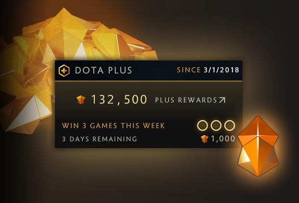 Система наград в Dota Plus