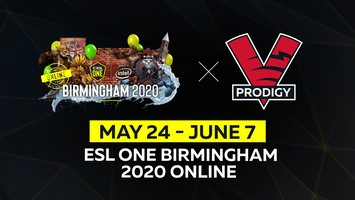 VP.Prodigy will play in ESL One Birmingham 2020 - Online