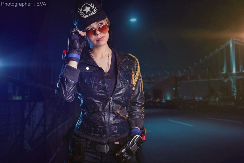 Косплей на Соню Блейд. Косплеер: Екатерина Недорезова. Фотограф: ЕVA - Cosplay-photo. Источник: vk.com/eva_cosplay_photo