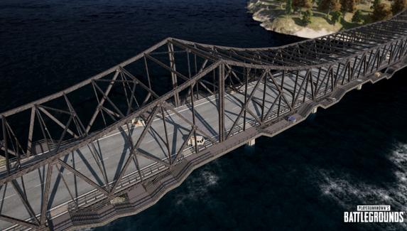 В PUBG изменили мост на Erangel и баланс при стрельбе в движении