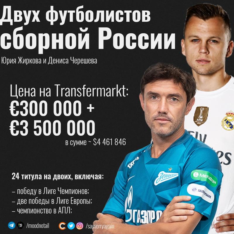 Парочку русских футбольных звёзд