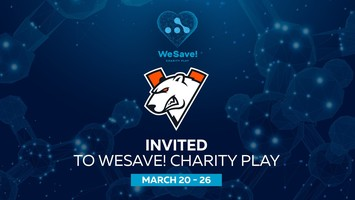 Virtus.pro сыграет на WeSave! Charity Play