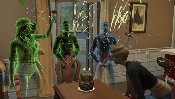 В The Sims 4 добавят призраков и медиумов