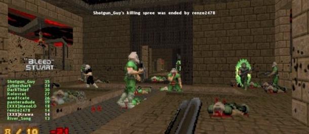 В какой части Doom появился мультиплеер?