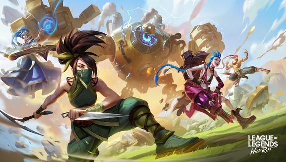 Natus Vincere подписала состав по League of Legends: Wild Rift