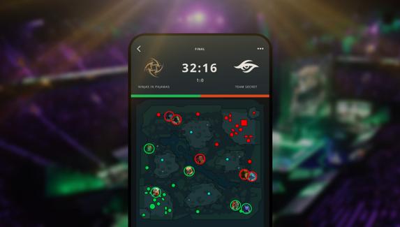Valve выпустила мобильное приложение для пользователей Dota Plus. В нем можно следить за турнирами DPC и делать прогнозы