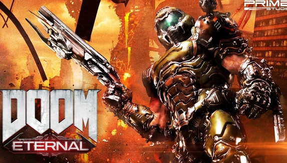Метровая фигурка Думгая из Doom Eternal поступит в продажу в 2021 году