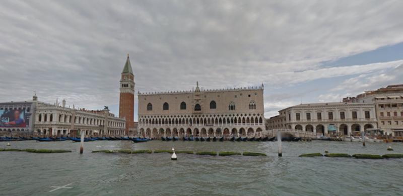 Вид на Большой канал в Венеции