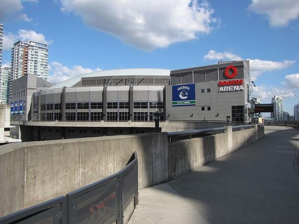 Rogers-арена,общий вид