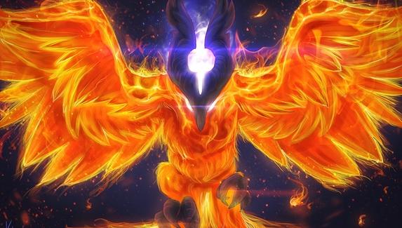 В патче 7.22c Phoenix мог запускать Fire Spirits через всю карту