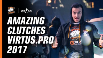 Well played. Best Virtus.pro clutches in 2017