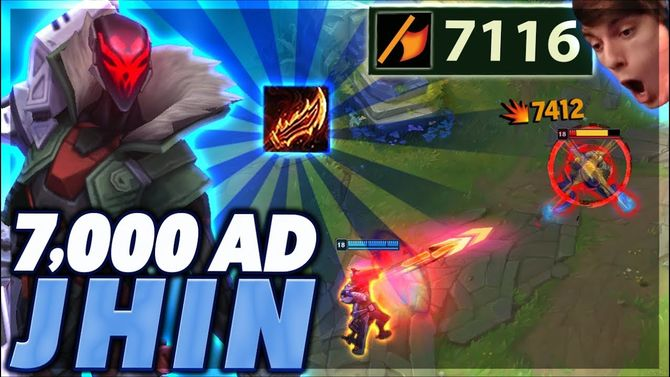 ... clunky interaction with Guinsoo's Rageblade – so clunky that players in  the European Masters were forbidden to build the item on Jhin in Patch 8.8.
