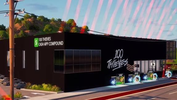 100 Thieves сделала виртуальную версию своей штаб-квартиры в Fortnite